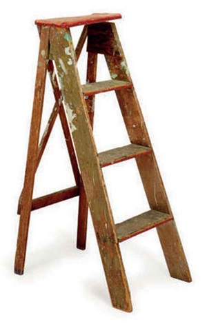 untitled ladder by bruce conner