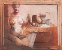 mujer y bodegón by jose antonio alcacer