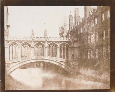 the bridge of sighs st johns college cambridge by william henry fox talbot