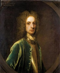 portrait of charles, 9th lord elphinstone by william aikman