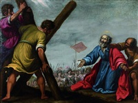 le martyre de saint andré by lorenzo lippi