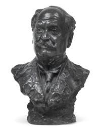 büste des pianisten leopold godowsky (1870-1938) by gustinus ambrosi