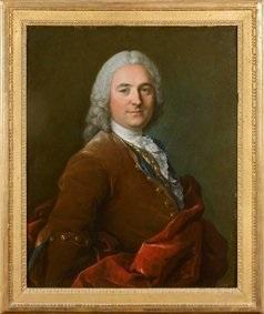 portrait de jacques de chassaigne receveur des impôts à gisors by louis tocqué