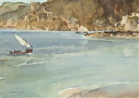 the two lateen sails by william russell flint