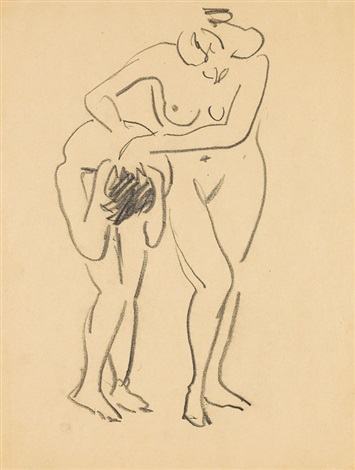 zwei akte by ernst ludwig kirchner