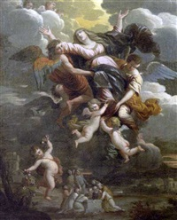 l'assomption de la vierge by theodorus cornelisz van der schuer