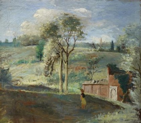 pennsylvania landscape by walter stuempfig