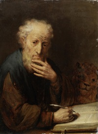 saint mark the evangelist by gerbrand van den eeckhout