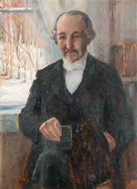 zacharias topelius by albert edelfelt