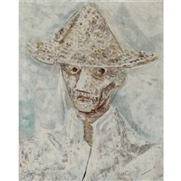 homem com chapeu, man with hat by candido portinari