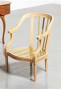 louis xiv n°28 armchair by rei kawakubo