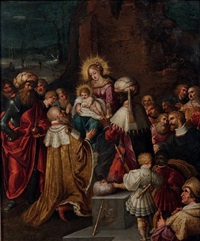 l'adoration des mages by frans francken iii
