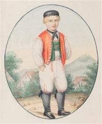 jeune garçon by nicolas van der waag