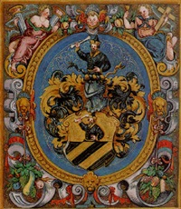 a coat-of-arms by andreas fischer