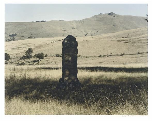 this monument commemorates the encampment here of griqua leader adam kok iii by david goldblatt