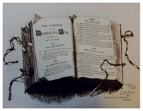 l'enfant prodigue (suite of 4) by james jacques joseph tissot