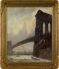 brooklyn bridge by bela de tirefort