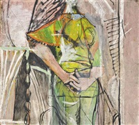 standing woman by graham sutherland