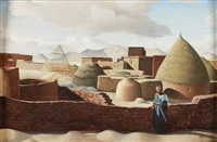 village marocain by jacques azema