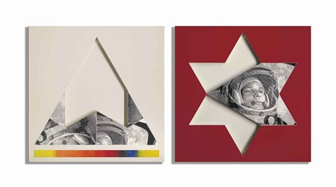 gagarin star triangle by joe tilson