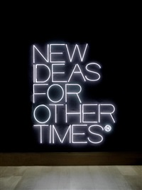 new ideas for other times by maurizio nannucci