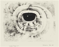 ninth stone; eighth stone; third stone (3 works) by lee bontecou