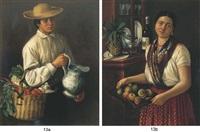 el mandadero (+ la sirvienta; 2 works) by josé agustín arrieta