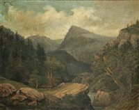a mountain landscape by alois bubák