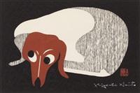 dachshund by kiyoshi saito
