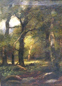a forest interior by charles linford