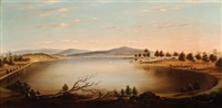 lake scene by william short