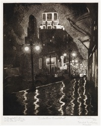 number one, broad street by allan randall freelon