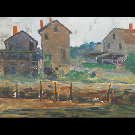 farm building by arthur j beaumont