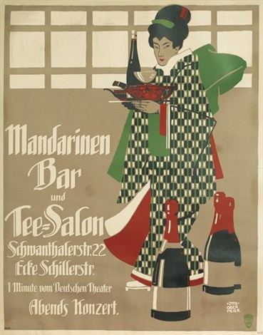mandarinen bar und tee salon by otto obermeier
