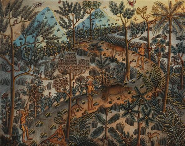 bali landscape by ida bagus made nadera