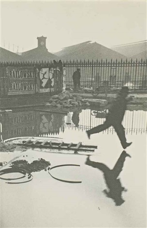 derrière la gare saint lazare paris by henri cartier bresson