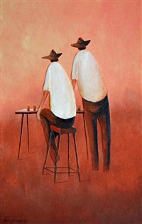 mates after a hard day by terry cousins