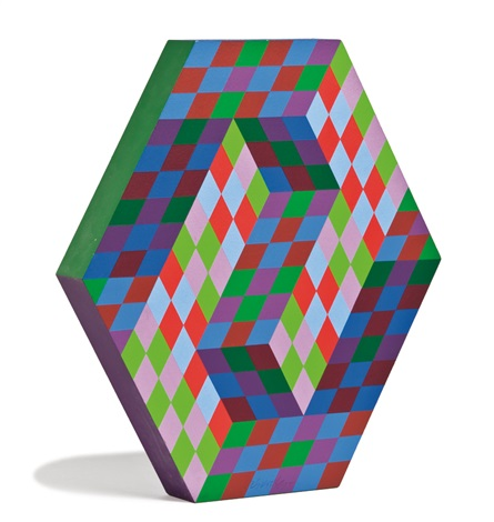 octal b by victor vasarely