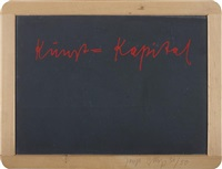 kunst = kapital by joseph beuys