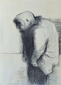 portrait of a man by noel jack counihan