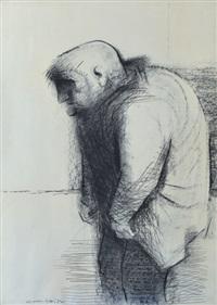 portrait of a man by noel jack counihan