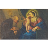 the holy family by ignaz joseph raab