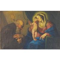 the holy family by ignaz joseph raab