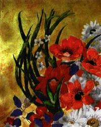 bouquet de fleurs by alix aymé