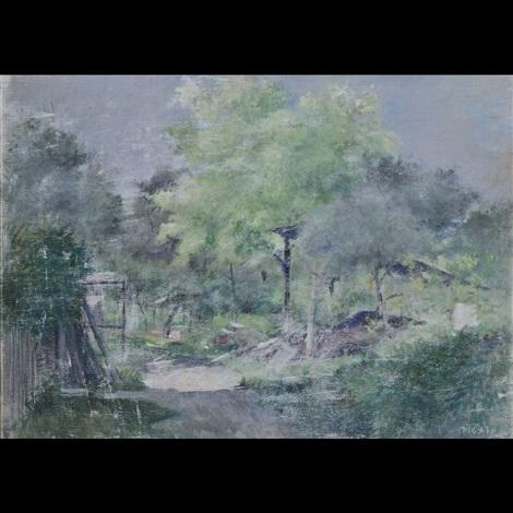 paesaggio boschivo by orazio pigato