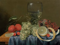 nature morte aux fruits by cornelis de bryer