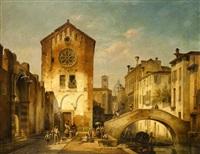 venezianische szene by ivo ambroise vermeersch