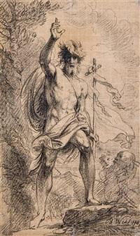 st. john the baptist by benjamin west