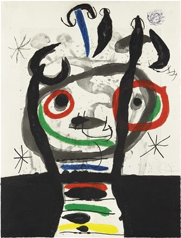 le grand sorcier by joan miró