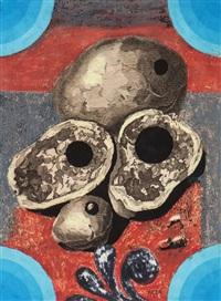 untitled (avocado pears) by eileen agar